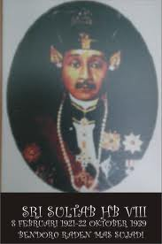 Sri Sultan Hamengkubuwono VIII